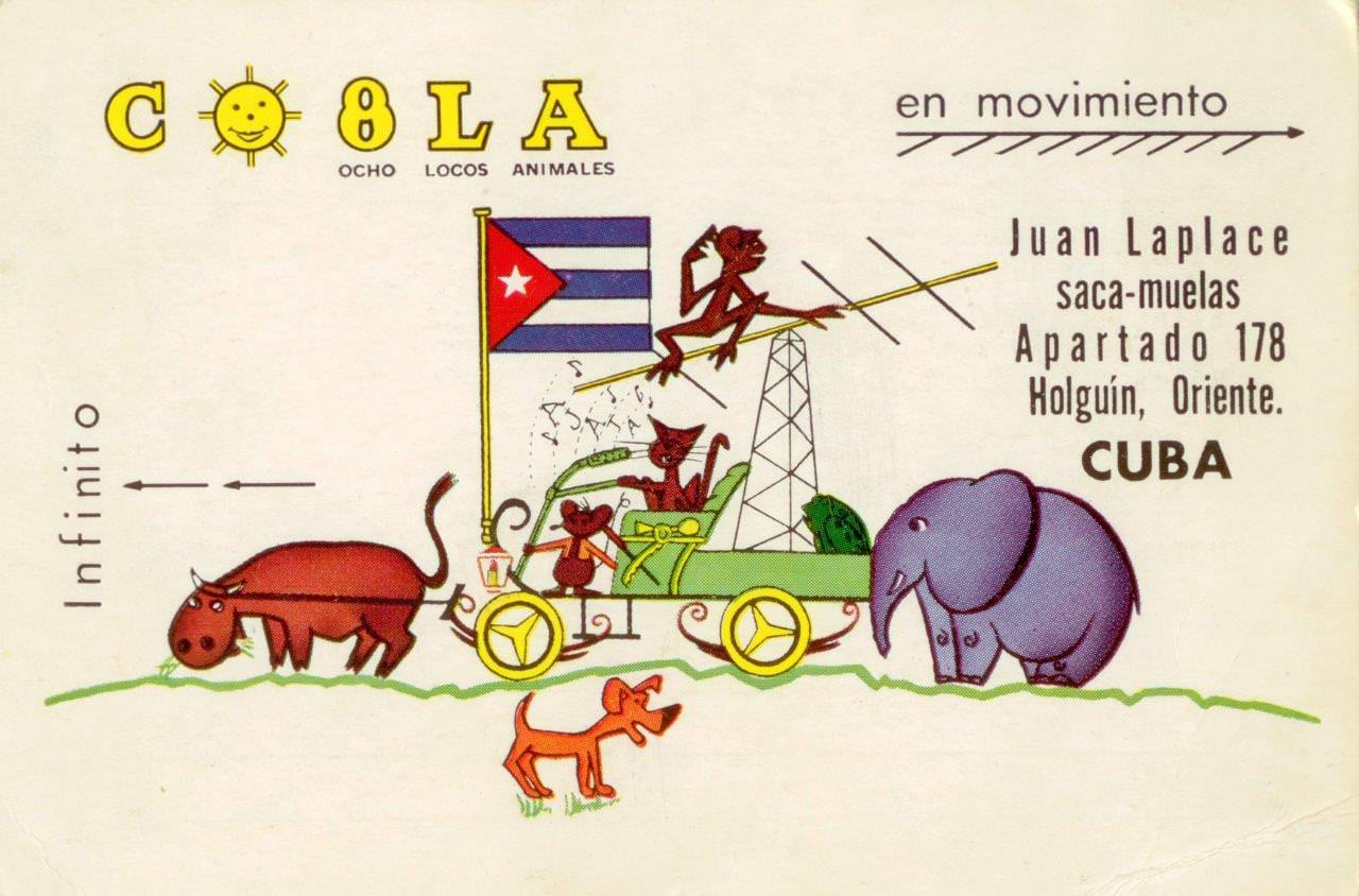 67. Бланк для записи на прием зубного врача Хуана Лапласе с рекламным текстом. Куба.  1961 (?) г.