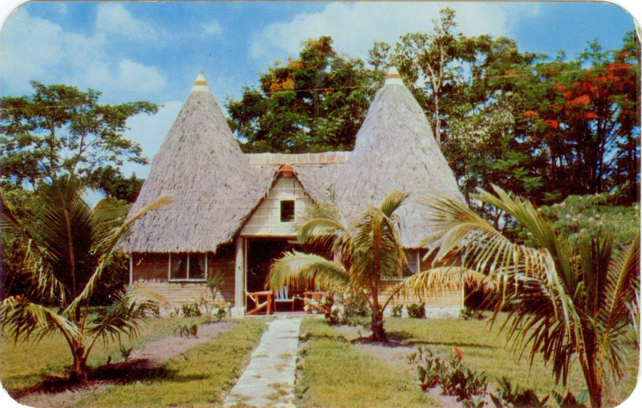 77. Карточка почтовая. Вилла Сан Хосе дэль Лаго. Гавана. Кон. 1950-х гг.