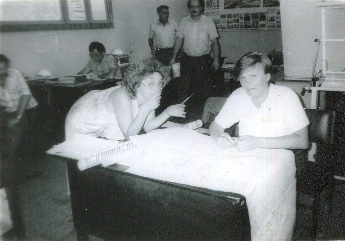1989. Завод Пунта Горда, группа Авторского надзора, фото 3