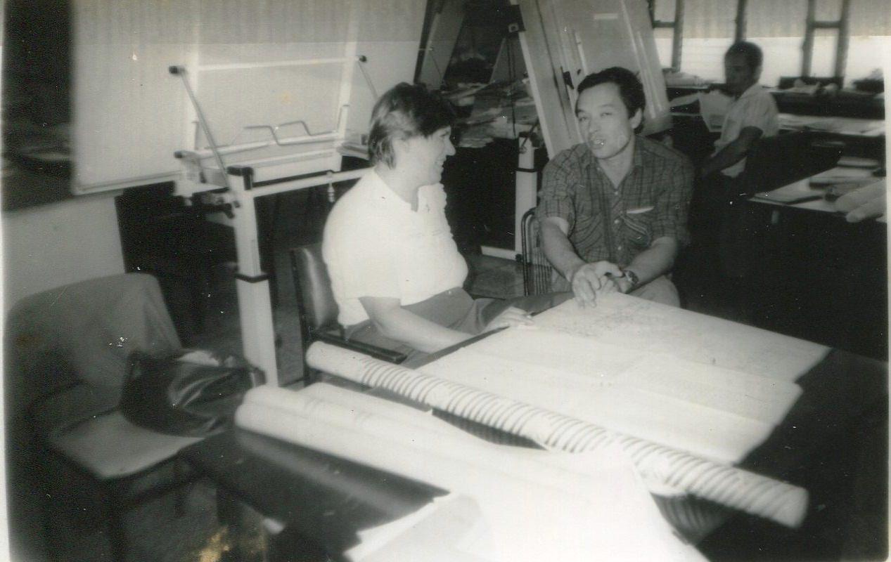 1989. Завод Пунта Горда, группа Авторского надзора, фото 4
