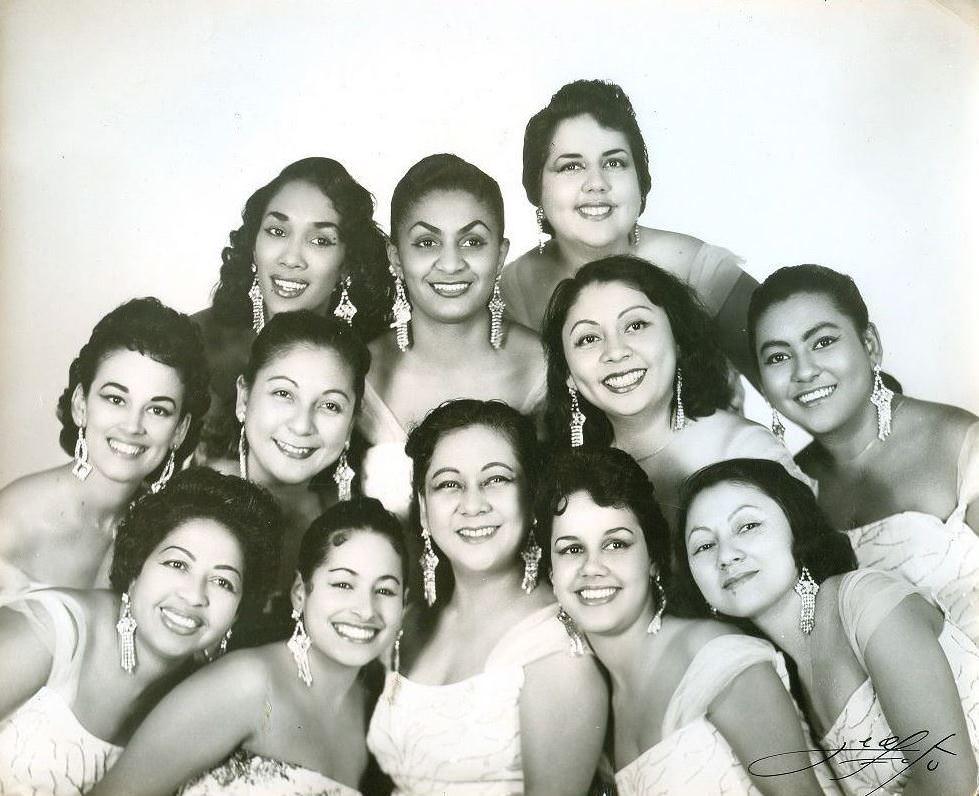 1958. Женский оркестр ANACAONA.