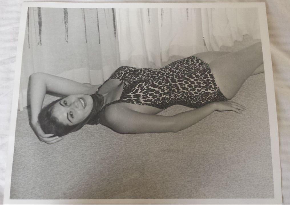 1950-е годы. Танцовщица из «Тропиканы».