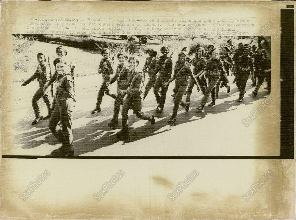 Гавана. Женщины-военные.