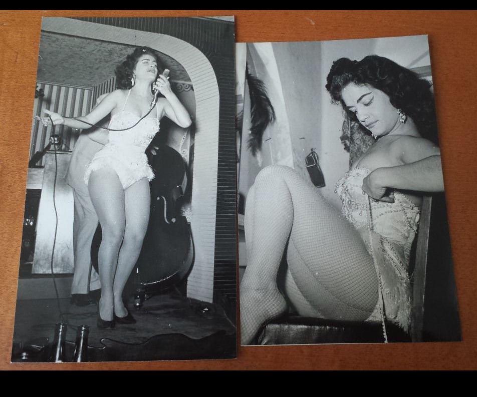 1940-е годы. Певица в кабаре.