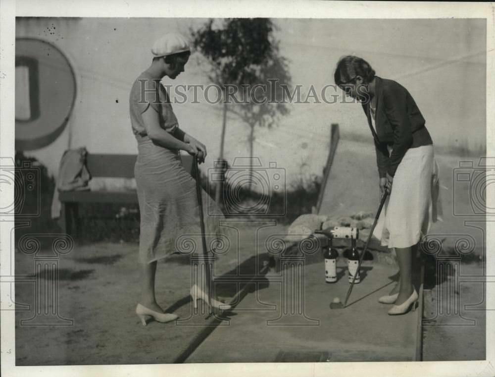 1931. Куба, мини-гольф.