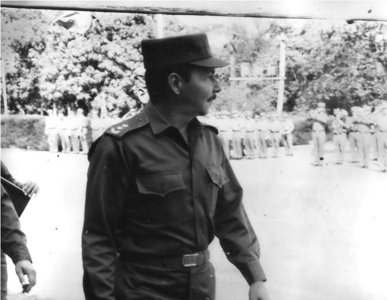 1973-1974. Рауль Кастро в бригаде.