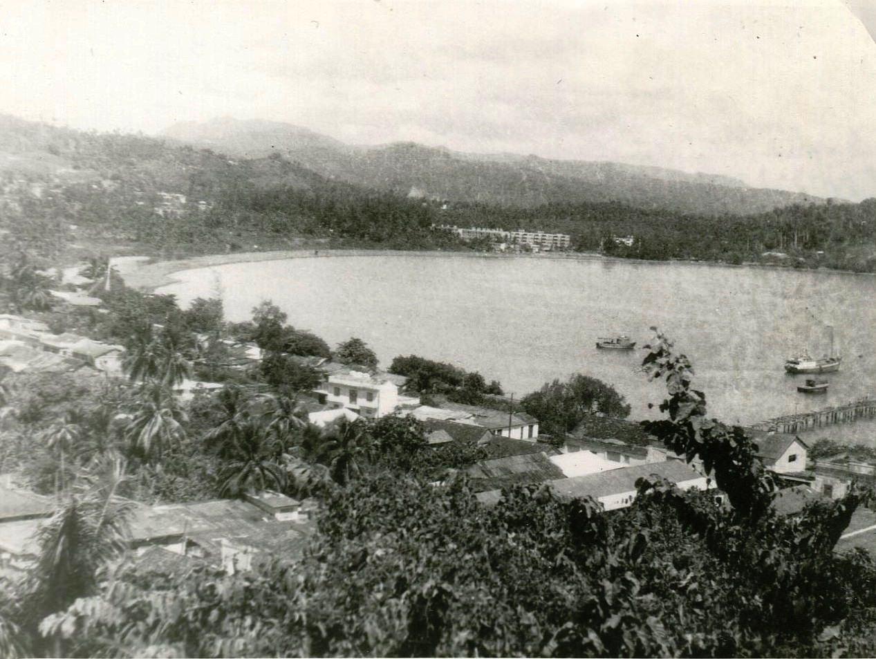 1989. Баракоа. Вид сверху, фото 2