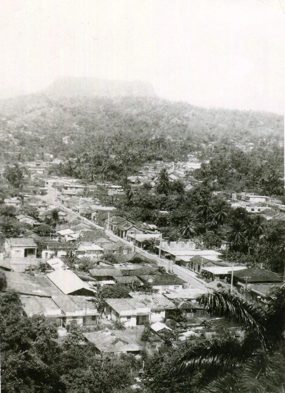 1989. Баракоа. Вид сверху, фото 3