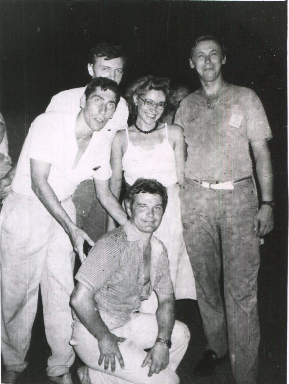 1989. Праздник на Пунта Горда, в здании заводоуправления, фото 6