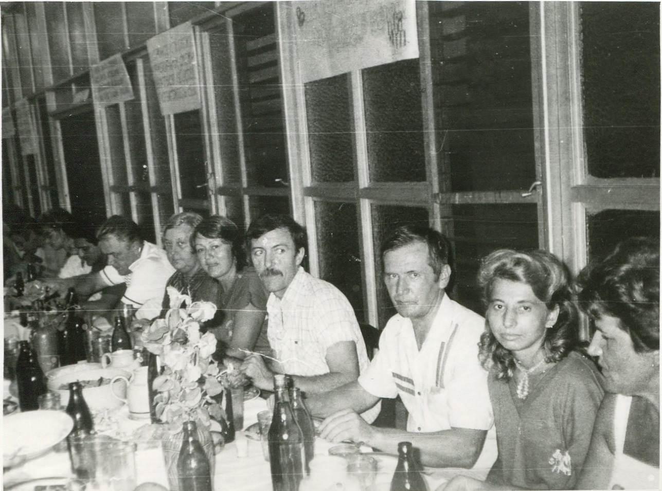 1989. Праздник на Пунта Горда, в здании заводоуправления, фото 7