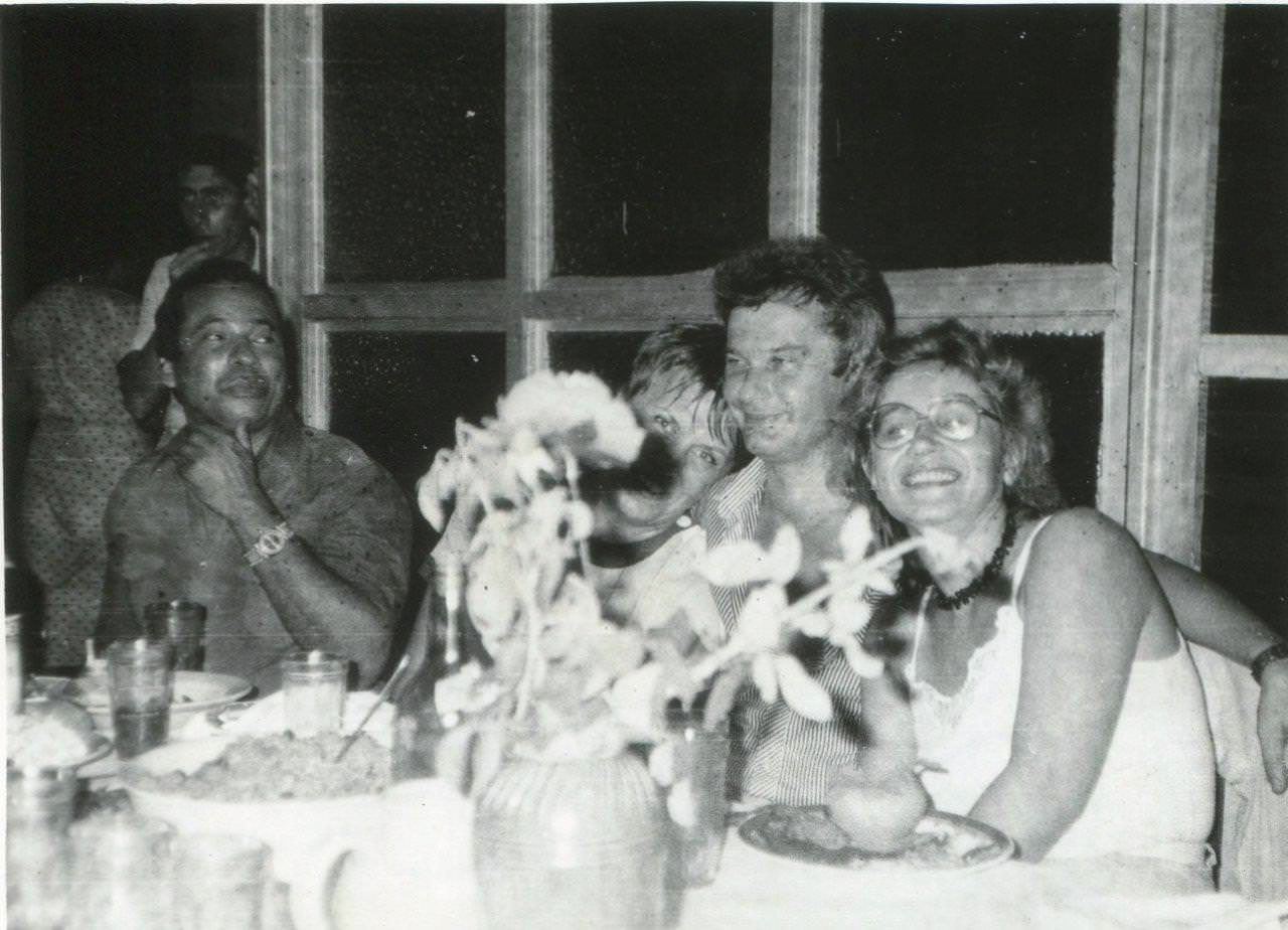 1989. Праздник на Пунта Горда, в здании заводоуправления, фото 12