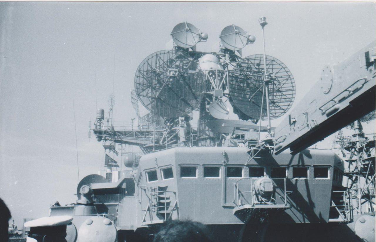 Осень 1986. Большой противолодочный корабль (БПК) «Очаков».