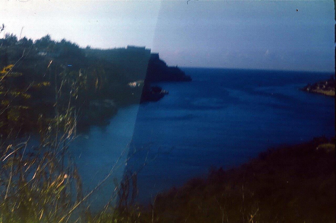 1983-1986. Сантьяго-де-Куба. Вход в бухту Сантьяго-де-Куба. Слева видна крепость Эль-Морро.