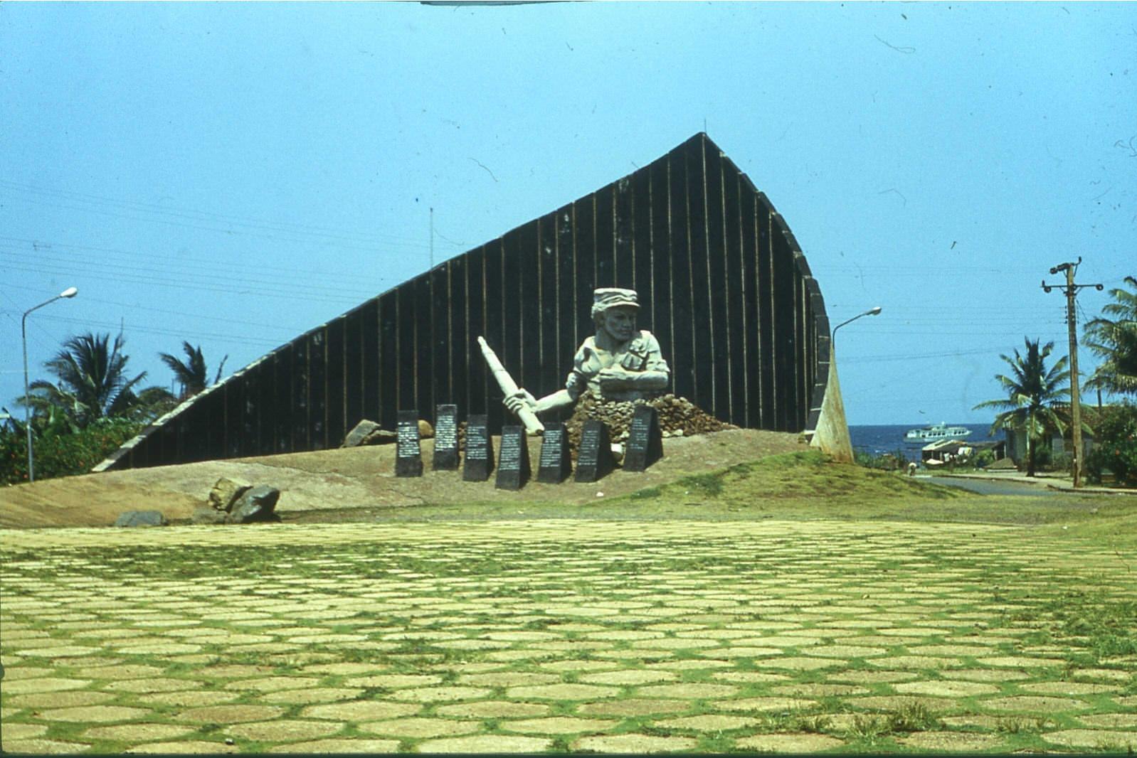 1983-1985. Памятник Педро Сотто Альба в Моа.