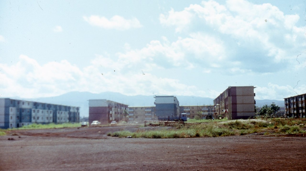 1983-1985. Серия 1. Фото 04. Дома спецалистов в Колорадо.