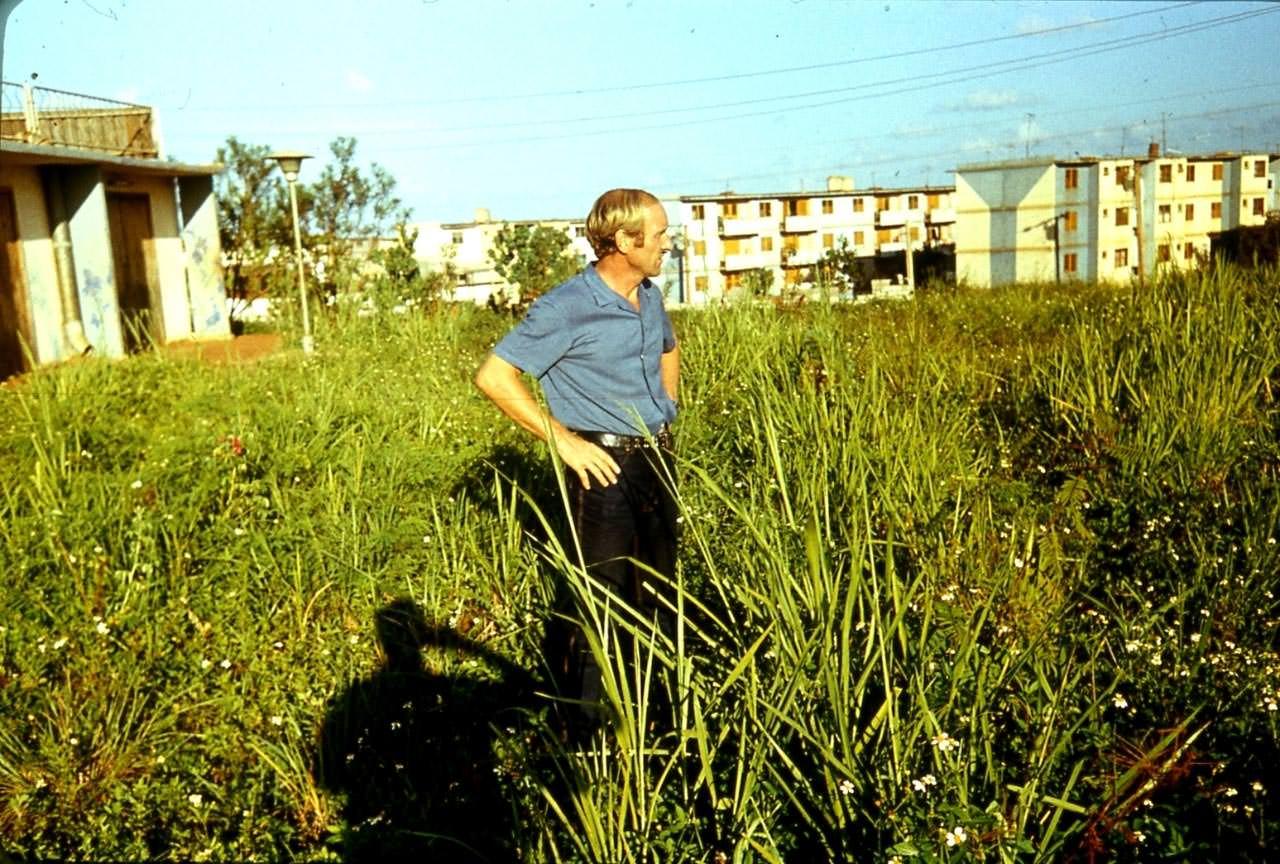 1983-1985. Серия 1. Фото 19. Возле лаборатории в Колорадо.
