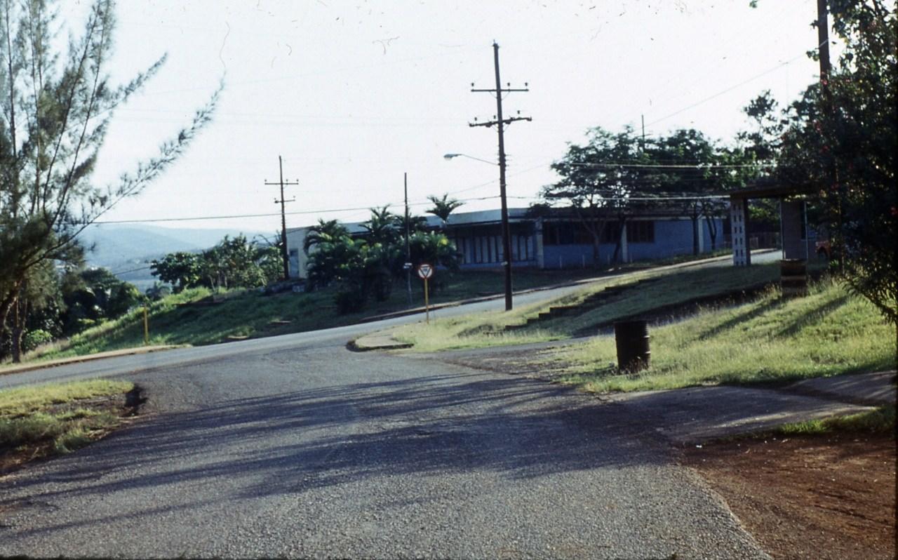 1983-1985. Серия 1. Фото 30. Выезд на нижнюю дорогу в Роло.