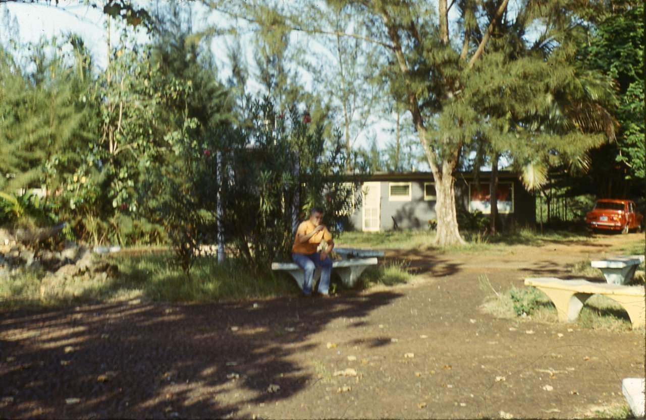 1983-1985. Серия 1. Фото 34. Скверик в Роло.
