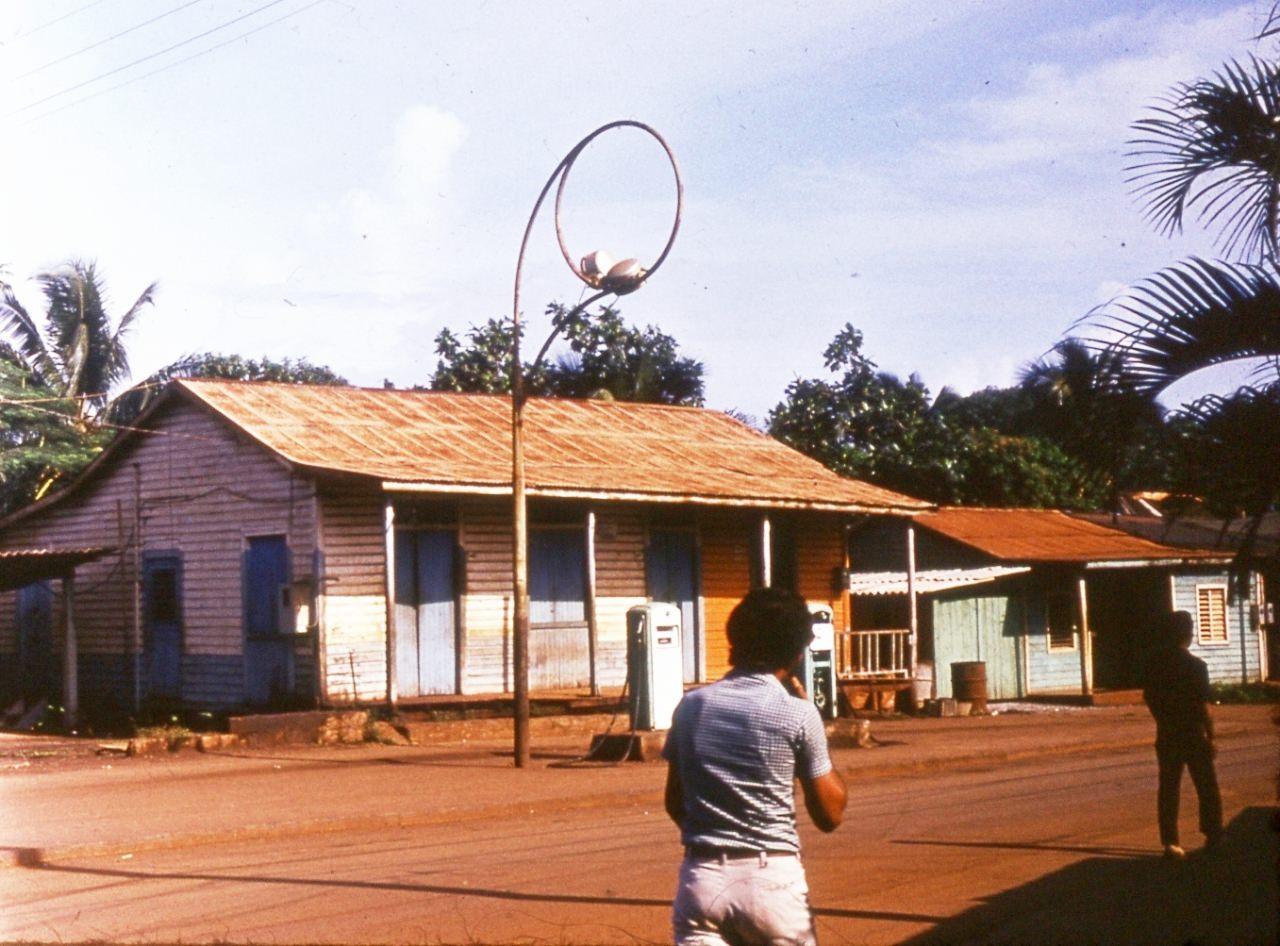 1983-1985. Улица в Моа