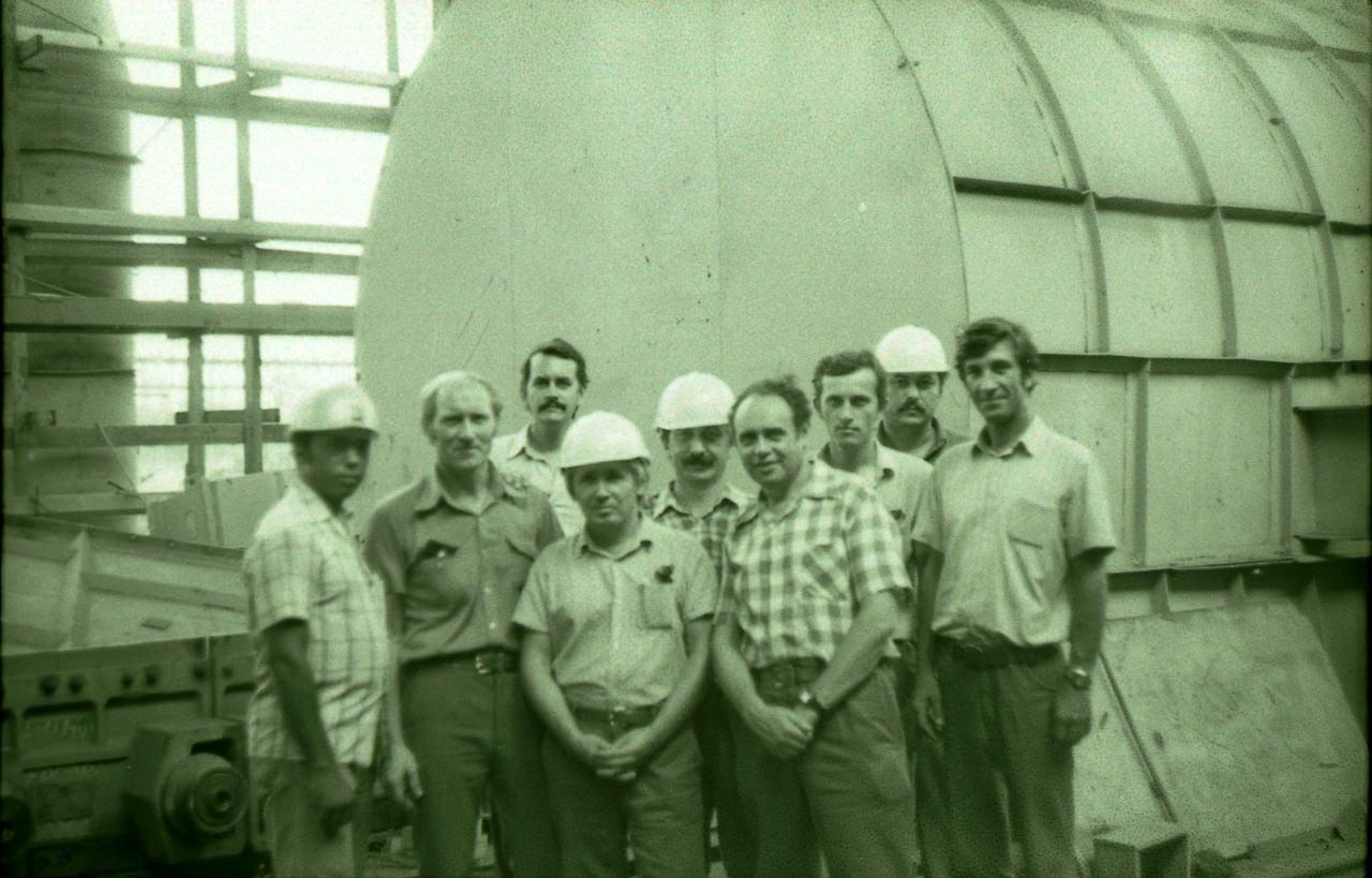 1983-1985. Группа советских и кубинских специалистов. Фото 1