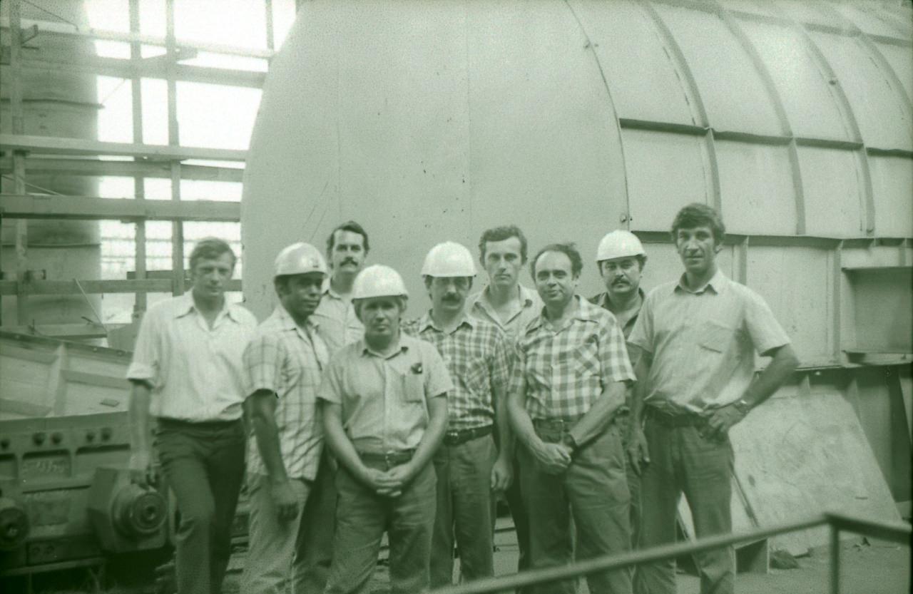 1983-1985. Группа советских и кубинских специалистов. Фото 2