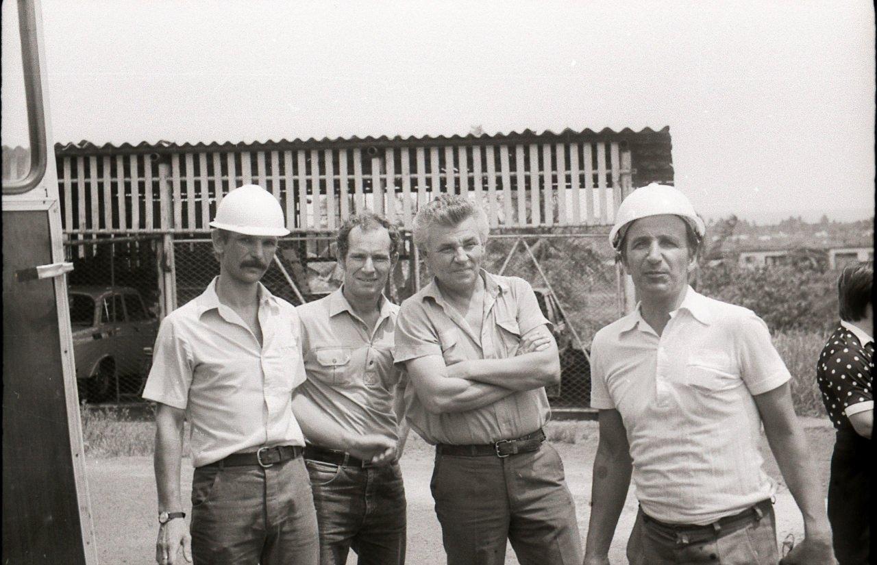 1983-1985. Шеф-инженеры: Швецов Евгений, ?, Понитаев Анатолий, Власенко.