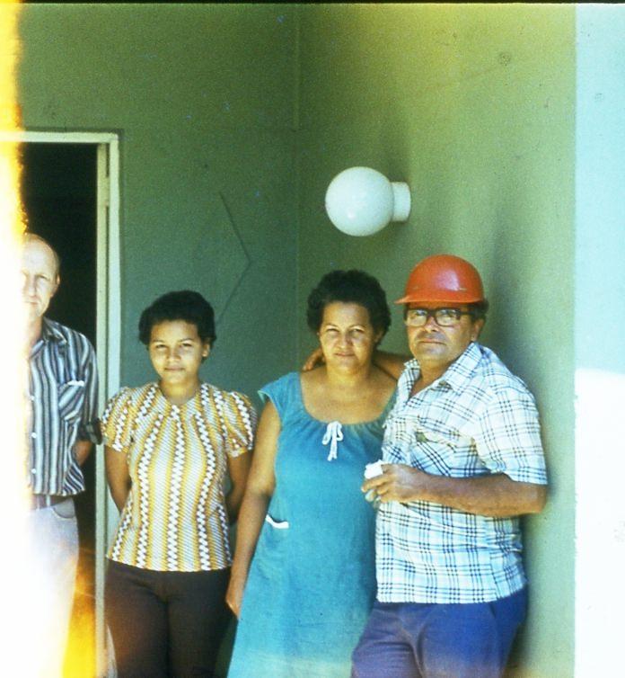1983-1985. Семейство местного специалиста.