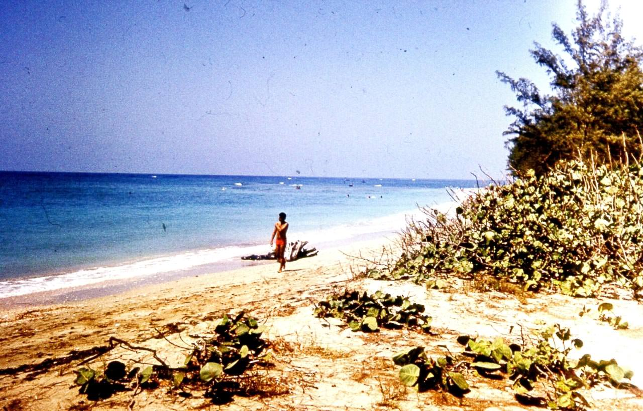 1983-1985. Остров Кайо Моа.