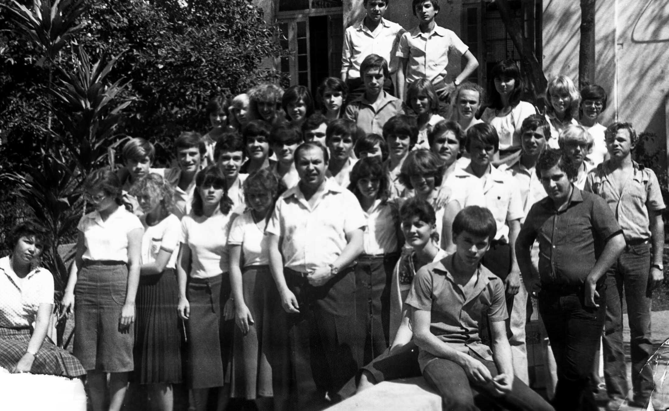 9 «Б» 1981-1982 учебный год
