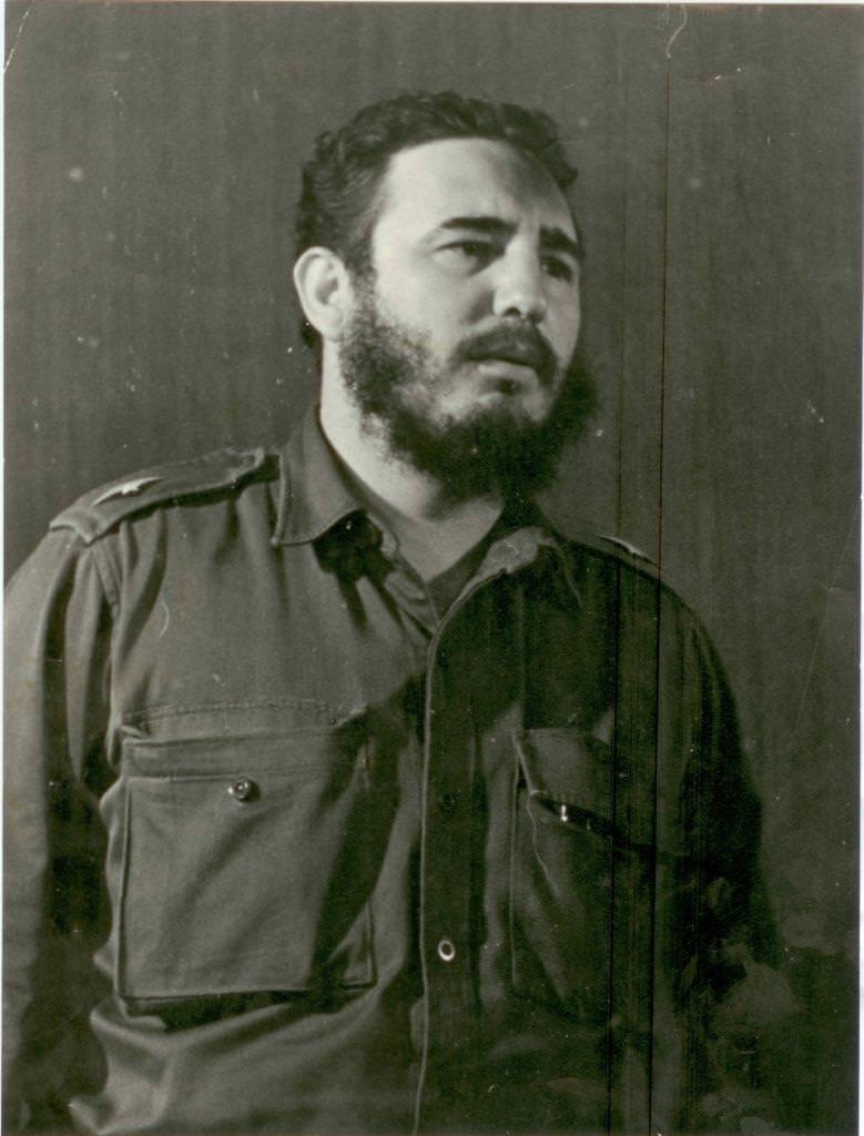33. Фидель Кастро, премьер-министр Республики Куба. Республика Куба. 1961-1962 гг.