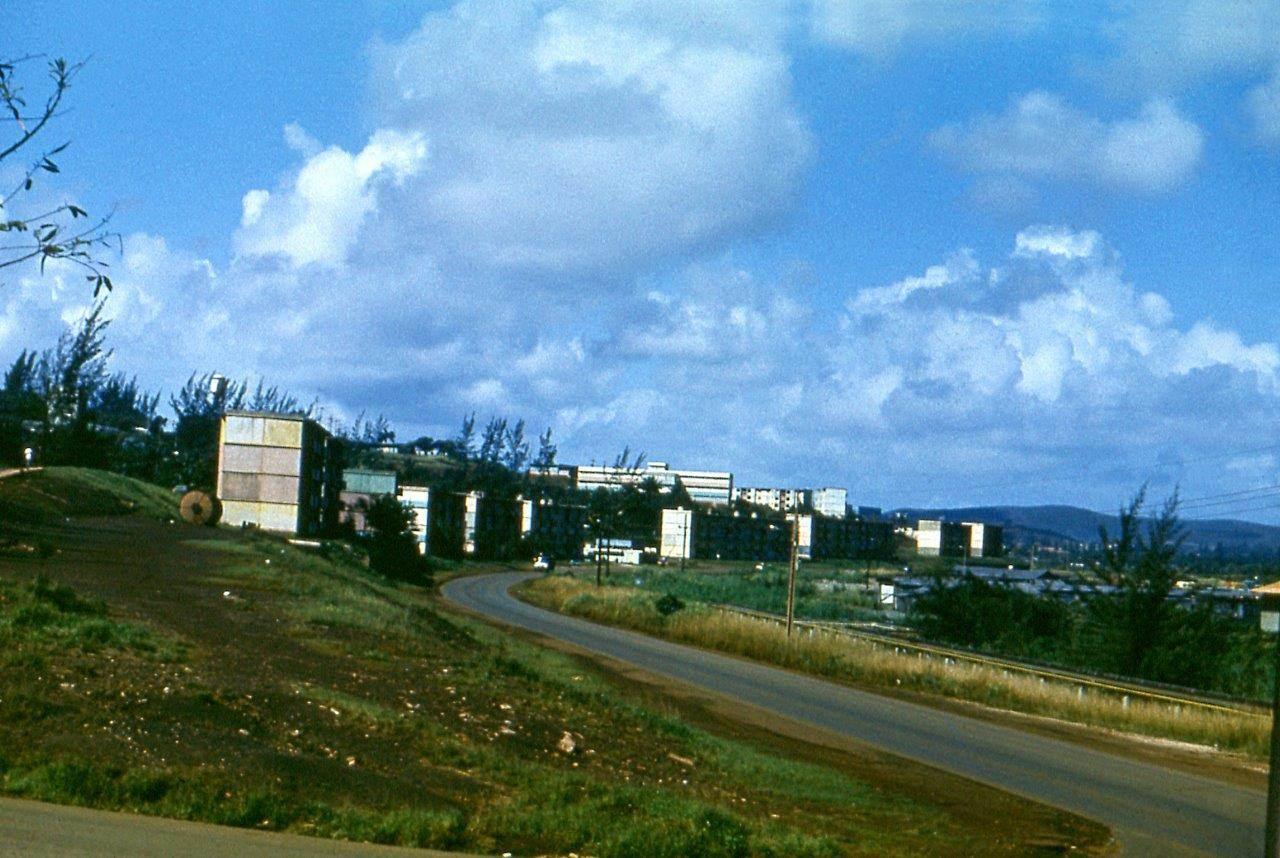 1980-1984. Вид на роло 8 из роло 9. Роло 6 последнее в нижнем ряду