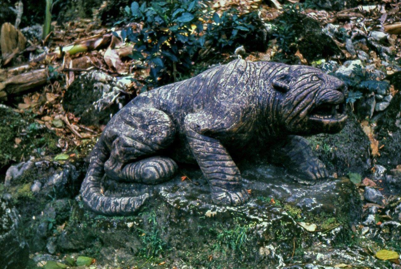 «Каменный зоопарк» в Ятерасе - Zoologico de Piedra. 1980-1984, фото 6