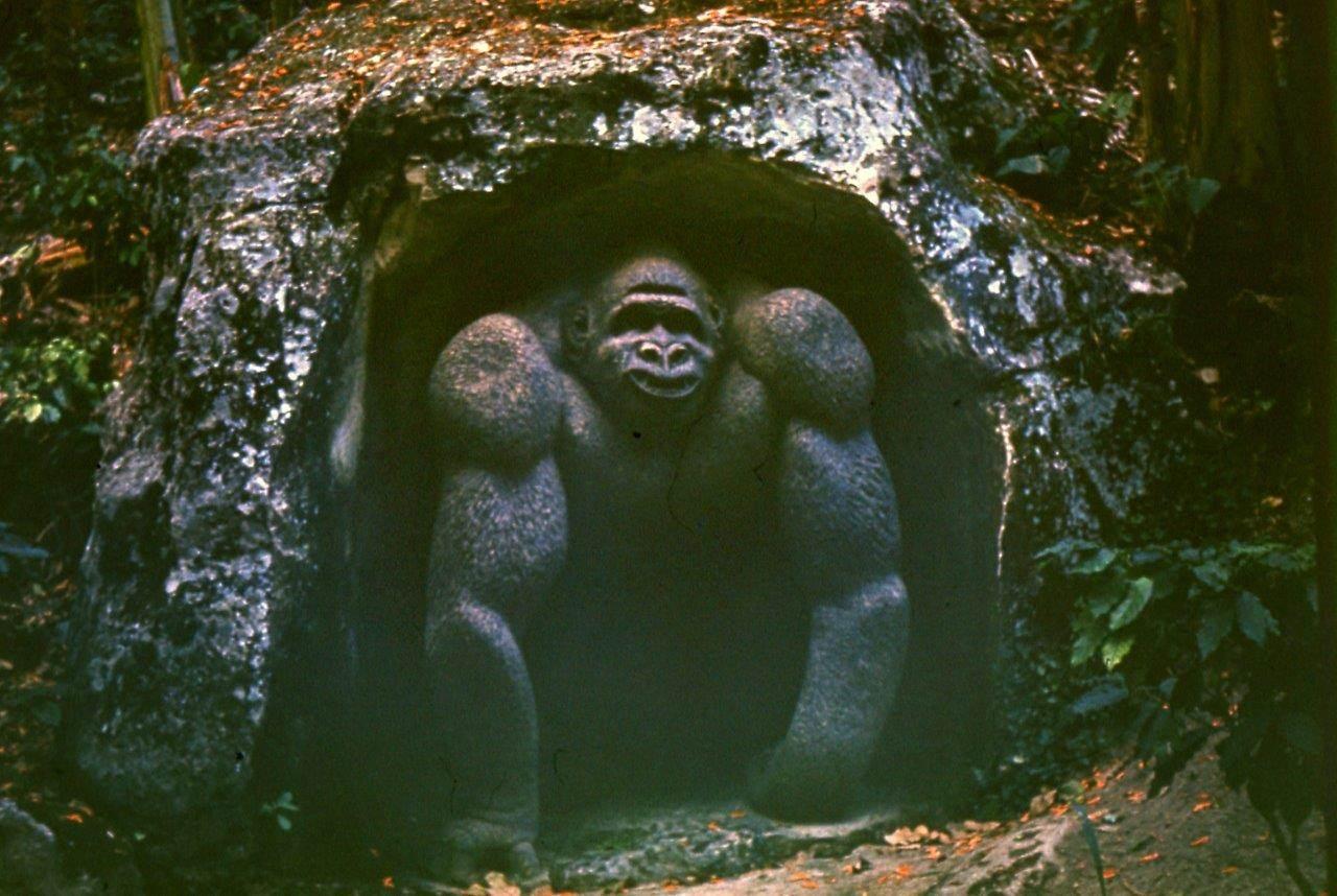 «Каменный зоопарк» в Ятерасе - Zoologico de Piedra. 1980-1984, фото 14