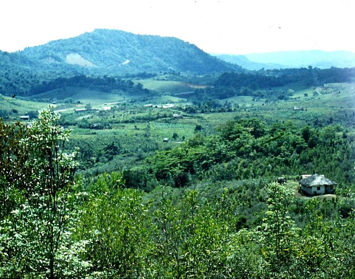 Горы Сьерра-Маэстра. 1983-1985. Вид с перевала. 2