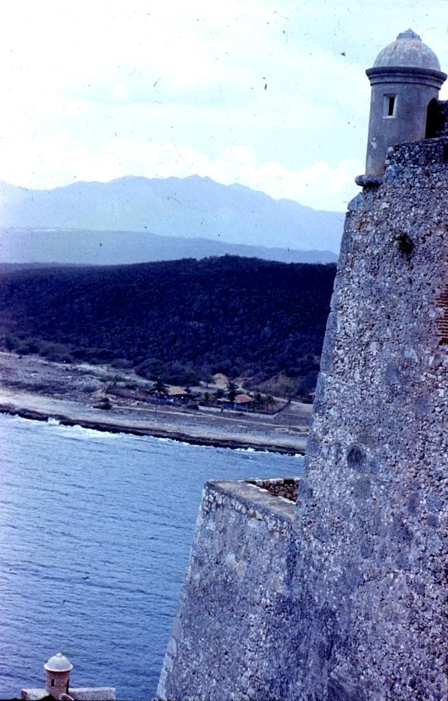 Сантьяго-де-Куба. 1983-1985. Крепость Кастильо-дель-Моро. 1