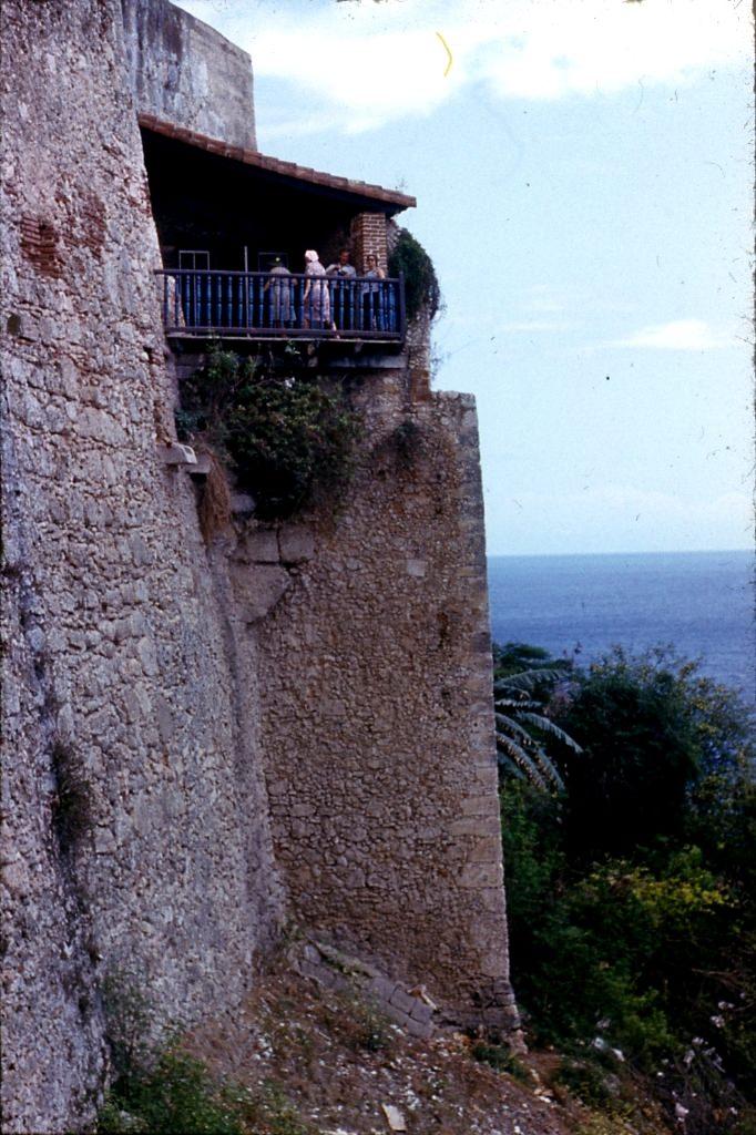 Сантьяго-де-Куба. 1983-1985. Крепость Кастильо-дель-Моро. Панорама бухты.