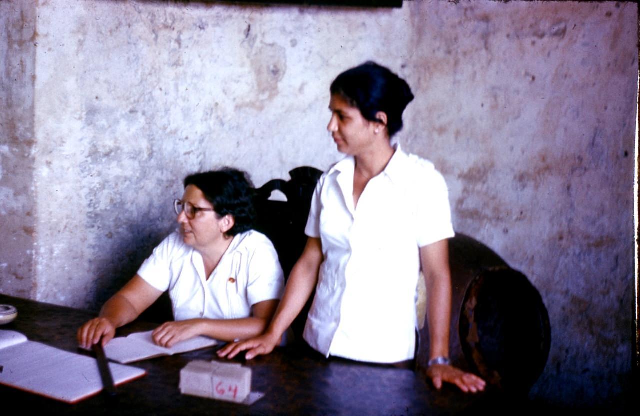 Сантьяго-де-Куба. 1983-1985. Улицы Сантьяго. Персонал музея.