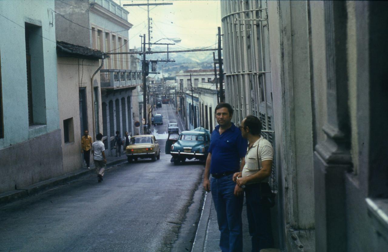 Сантьяго-де-Куба. 1983-1985. С.Лужин и Ю.Шепелев