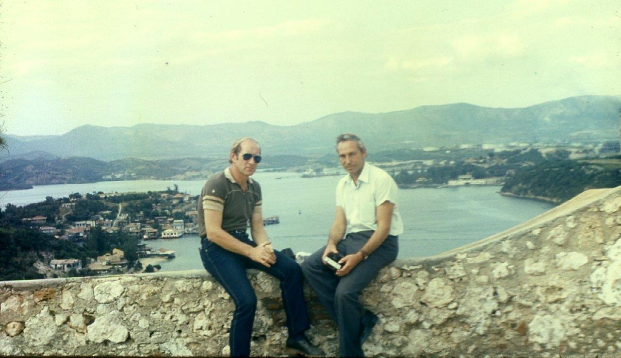 Сантьяго-де-Куба. 1983-1985. На набережной. 2
