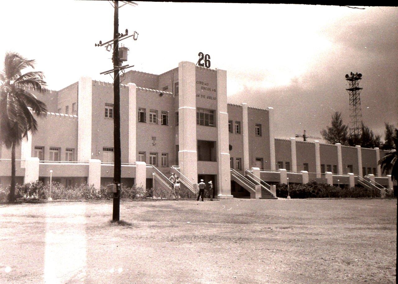 Сантьяго-де-Куба. 1983-1985. Казармы Монкада. 8