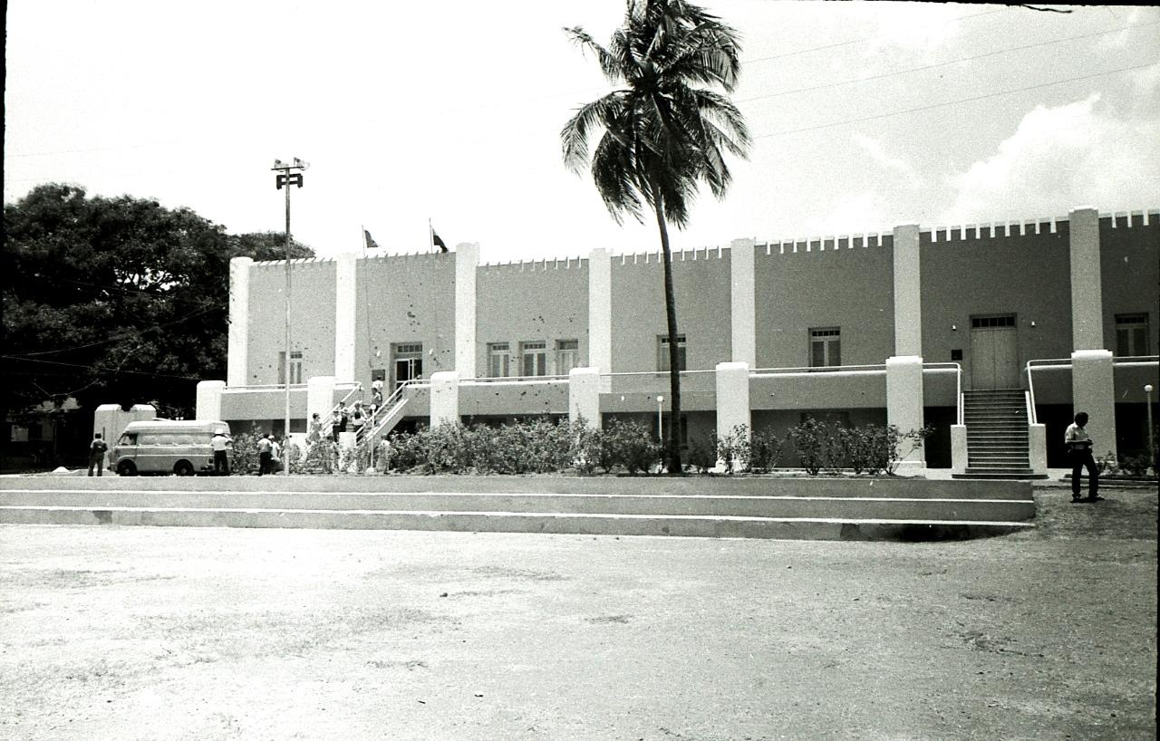 Сантьяго-де-Куба. 1983-1985. Казармы Монкада. 9