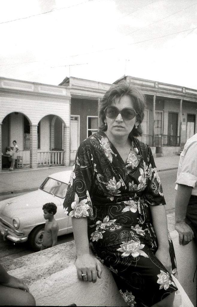 Сантьяго-де-Куба. 1983-1985. Одна из экскурсанток