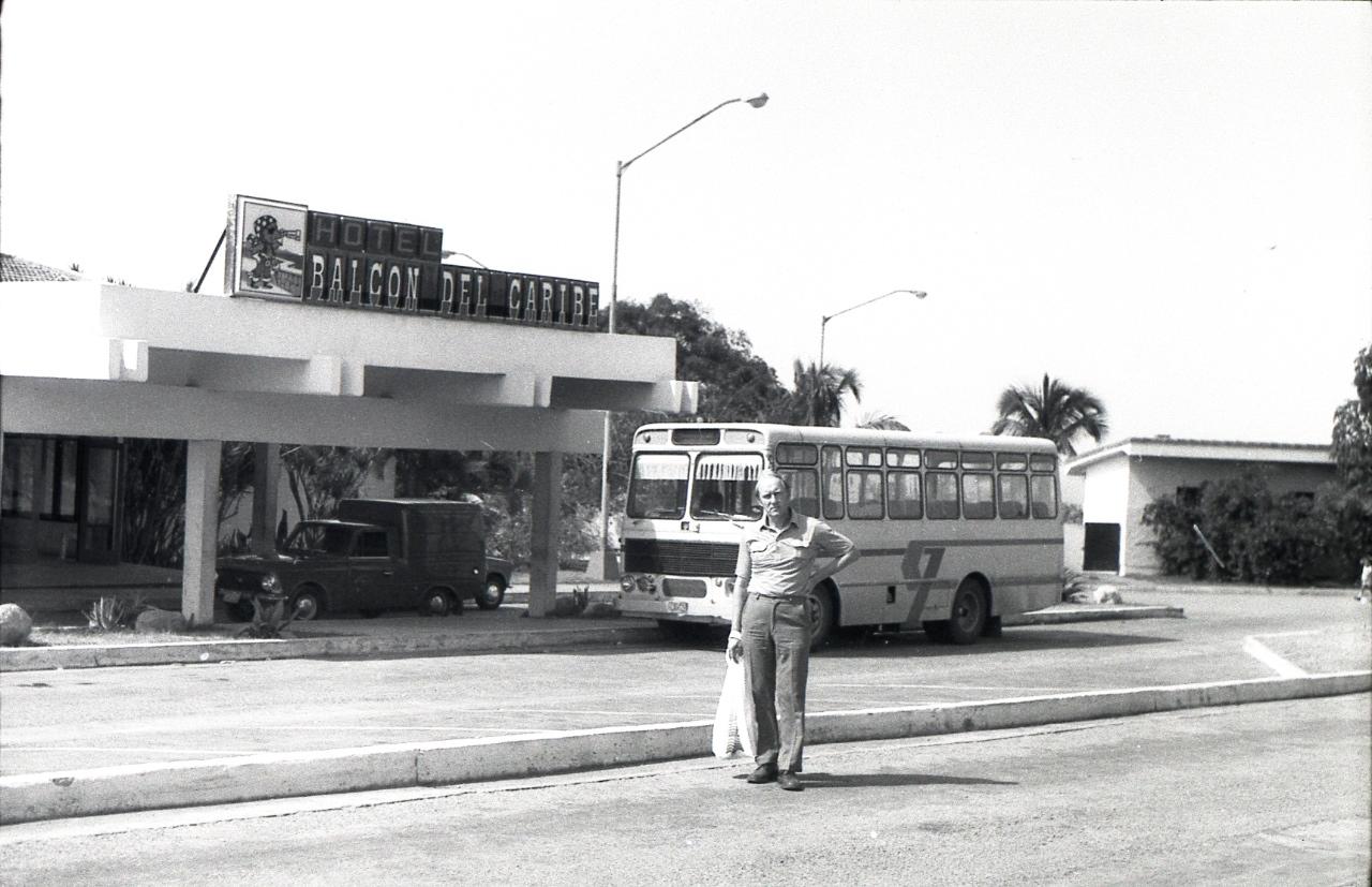 Сантьяго-де-Куба. 1983-1985. Гостиница «Балкон дель Карибе». 1