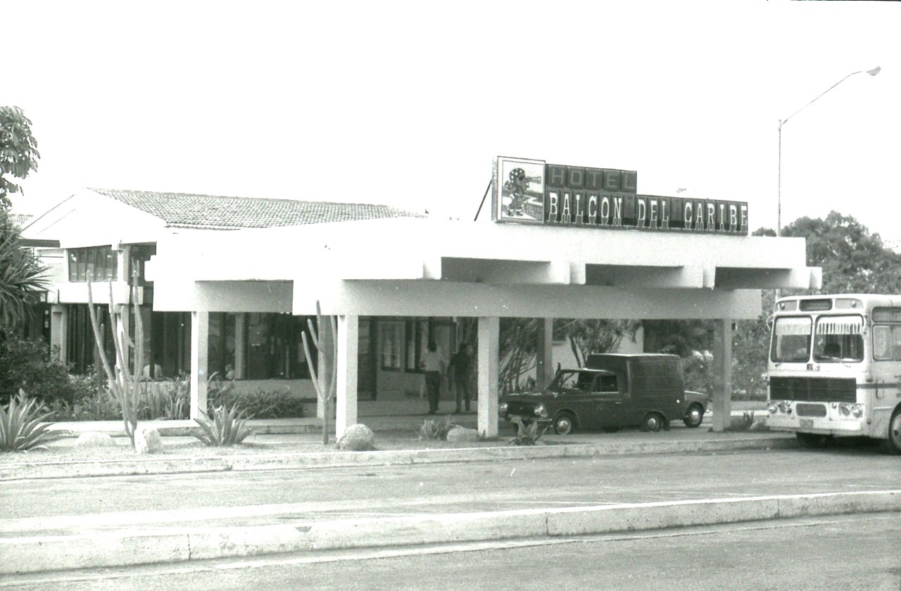 Сантьяго-де-Куба. 1983-1985. Гостиница «Балкон дель Карибе». 2