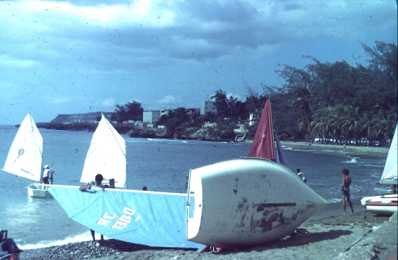 Сантьяго-де-Куба. 1984. Яхтинг-2