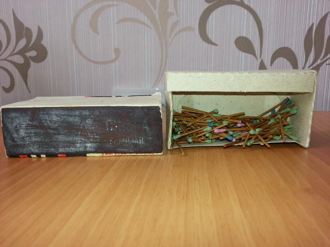 1990. Большой коробок спичек. 1 вид.