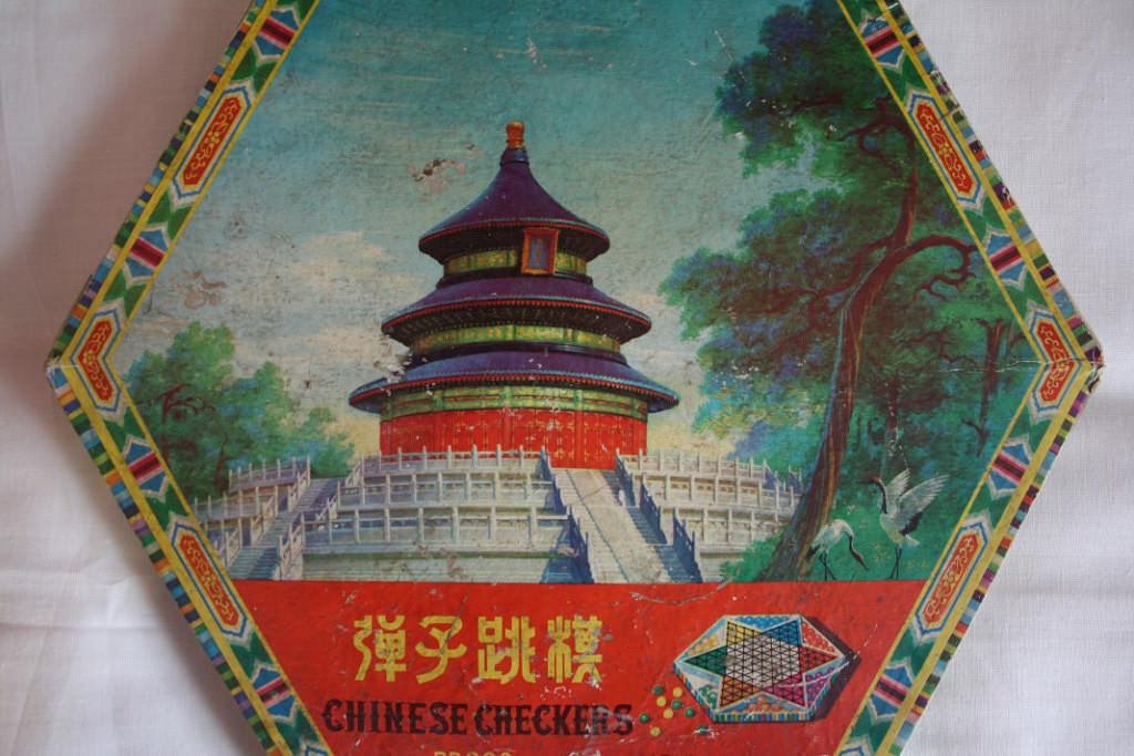 Игра «Китайские шашки», упаковка