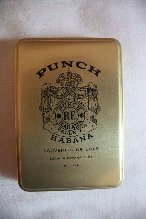 Коробка из-под сигар «Punch»