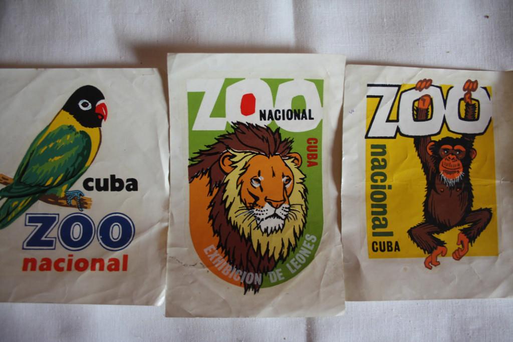 Наклейки из зоопарка