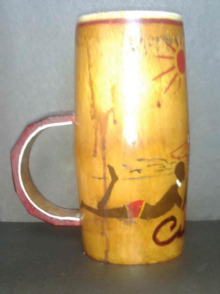 Стакан из бамбука. Вид 1